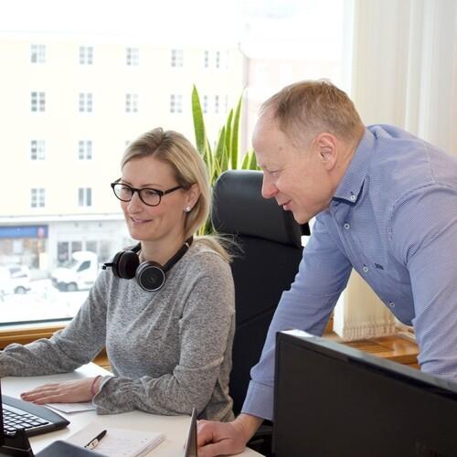 Helena Lönnborg, Systemansvarig för TOPdesk