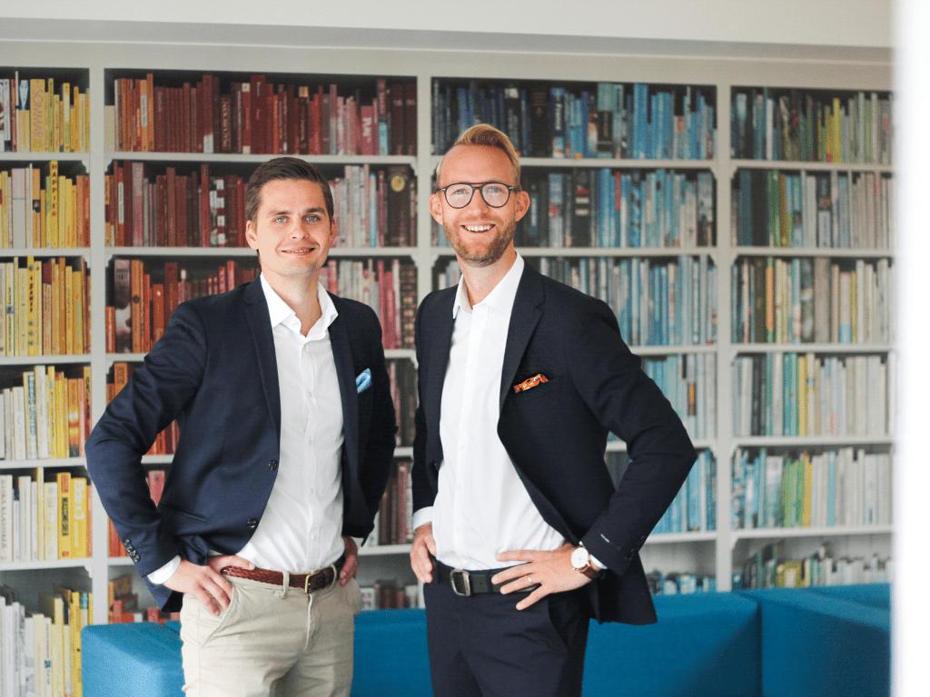 IT Software grundarna Christian Engarås och Jon Werkander