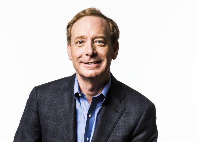 Porträtt av Brad Smith för Microsoft. Brad om beskedet som svar på Schrems II-domen.